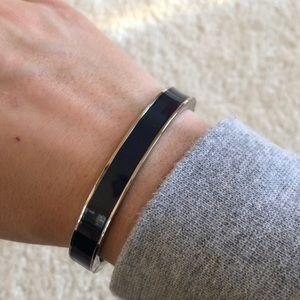 Talbots Enamel Navy Bangle Bracelet